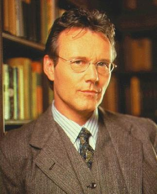 Anthony Stewart Head as Giles from Buffy the Vampire Slayer. Wearing tweed.